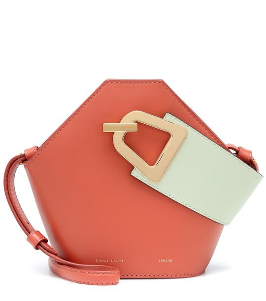 Danse Lente Mini Johnny leather bucket bag in pink