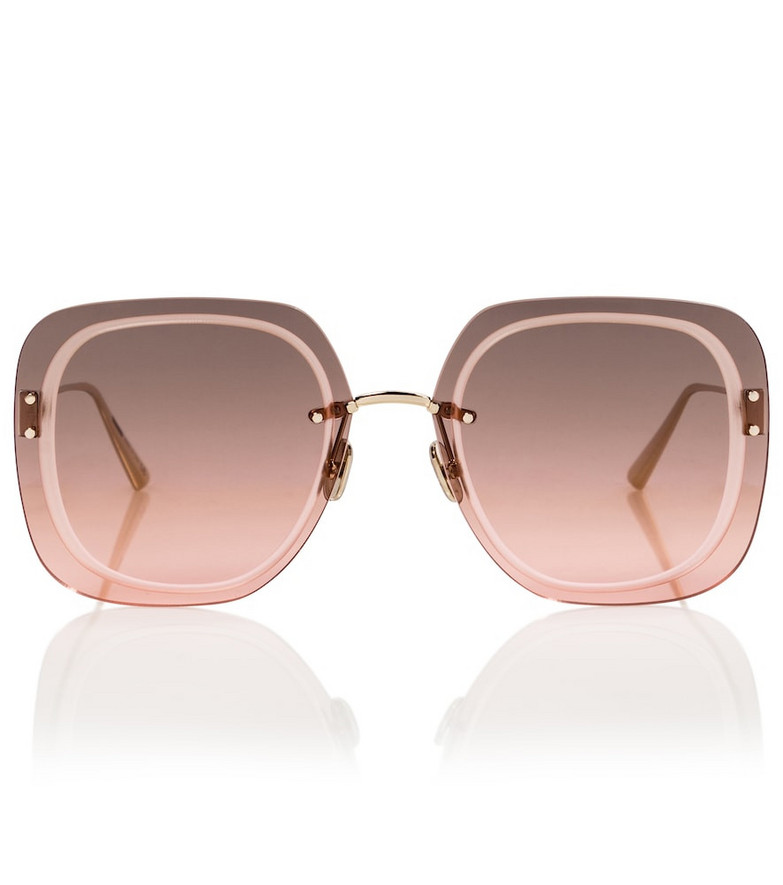 Dior Eyewear UltraDior SU oversized sunglasses in pink