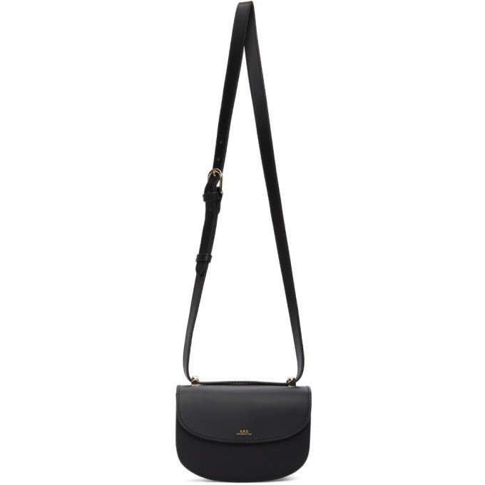 A.P.C. A.P.C. Black Mini Geneve Bag