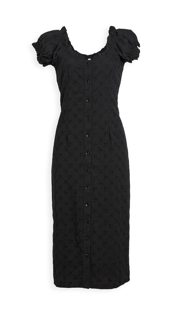 Rachel Pally Eyelet Martina Dress in black