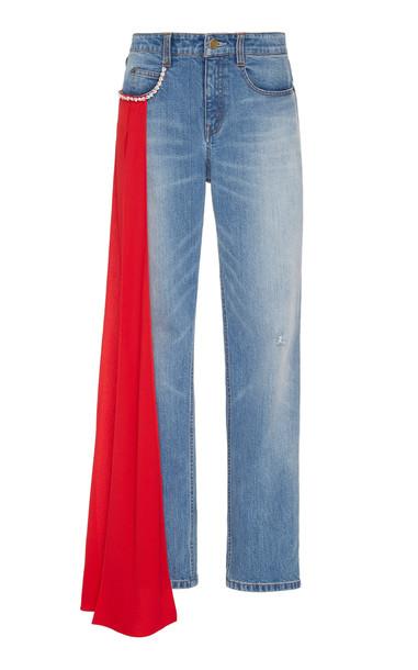 Hellessy Carrington Stretch Mid-Rise Straight-Leg Jeans