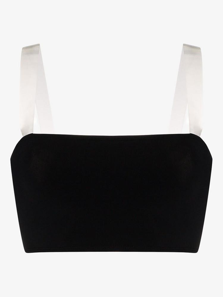 Beth Richards ghost bikini bandeau top in black