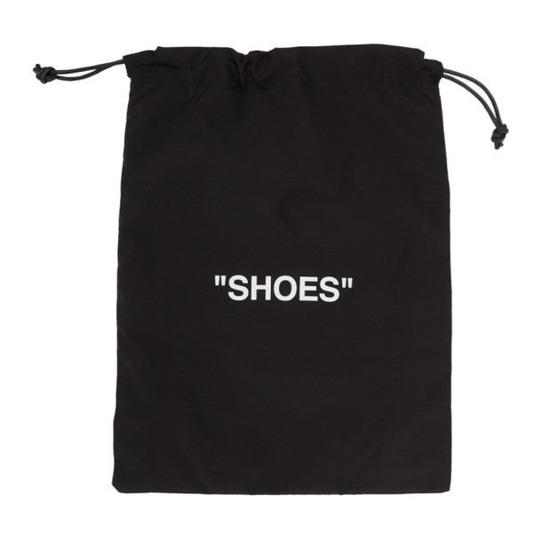 Off-White Black and White Shoes Pouch