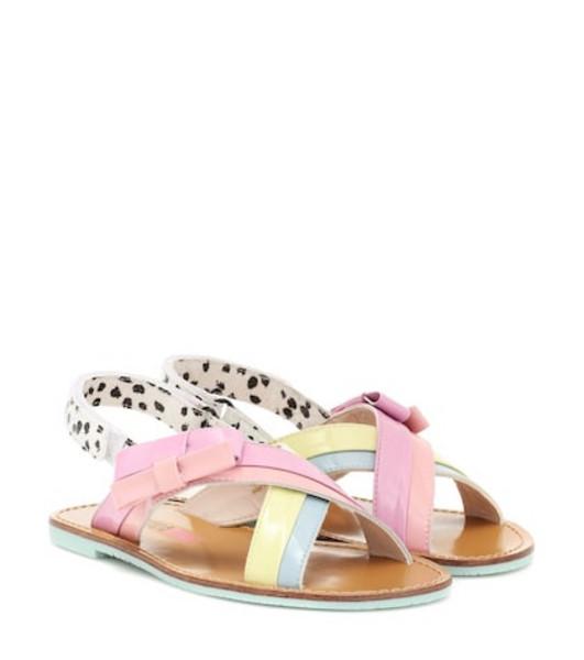Sophia Webster Mini Andi Bow leather sandals