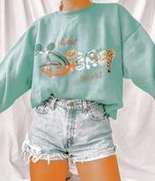 sweater,disney
