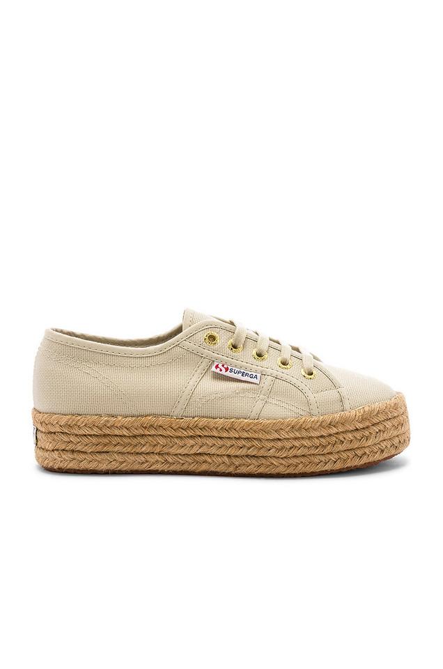 Superga 2730 COTROPEW Sneaker in beige