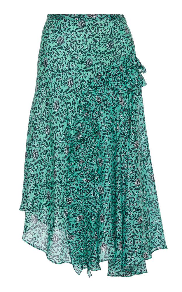 Figue Saya Silk Skirt in multi
