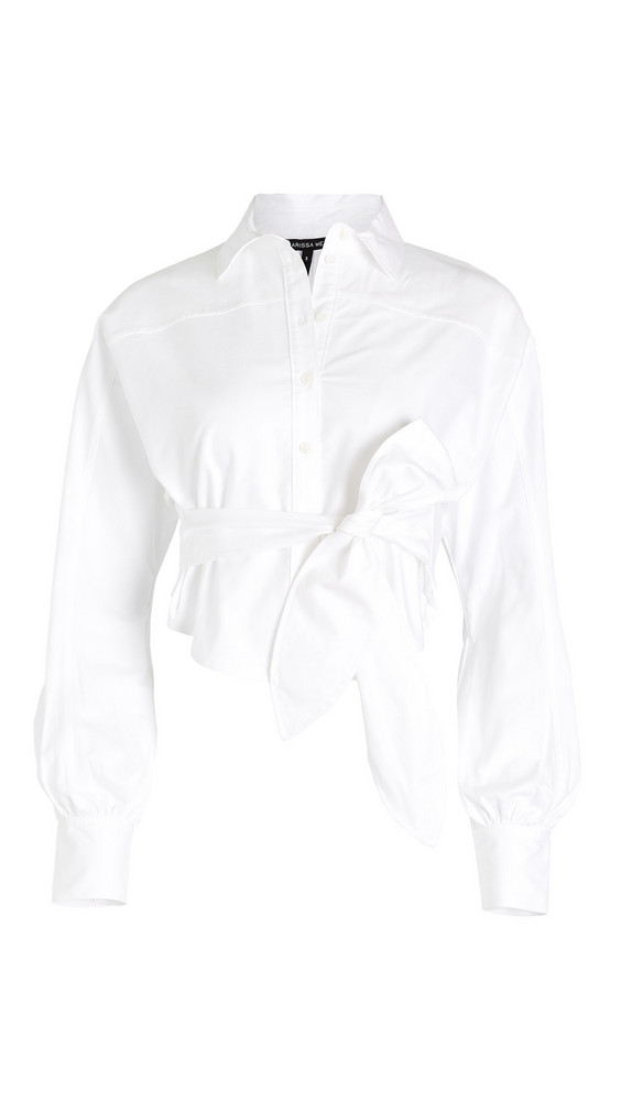 Marissa Webb Emmerson Oxford Shirt in white