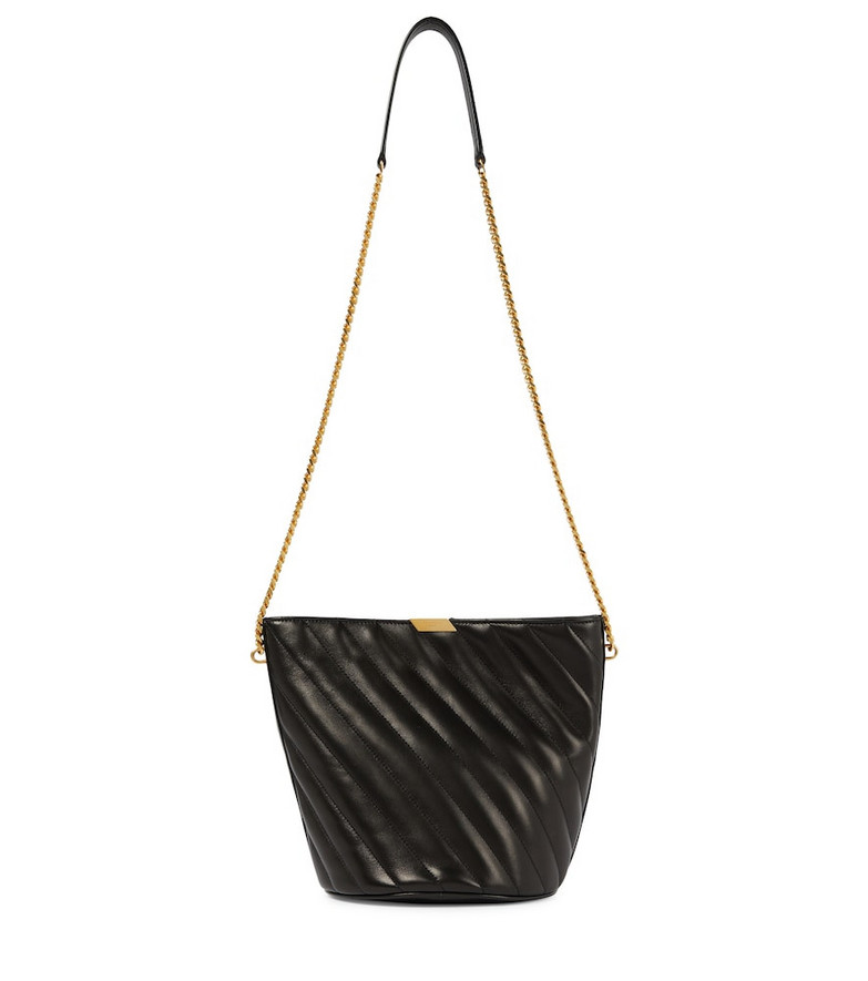 Saint Laurent Exclusive to Mytheresa – Small leather bucket bag in black