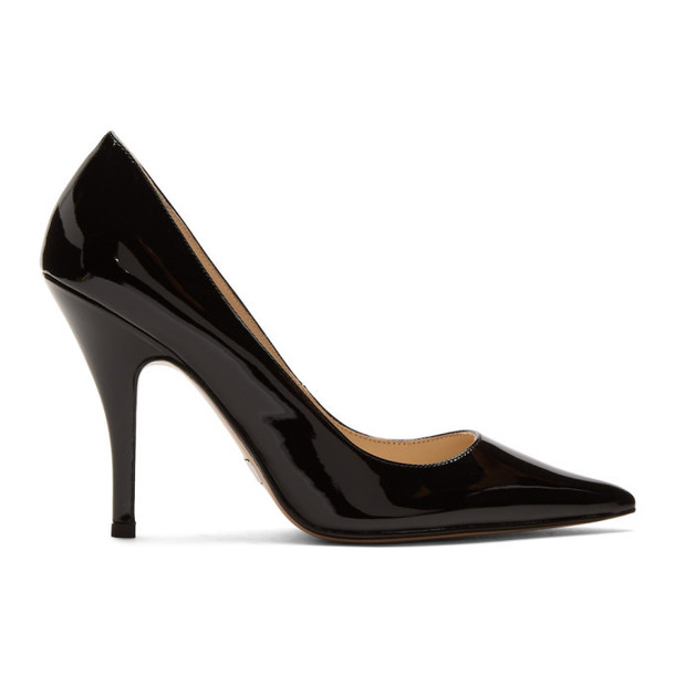 Marc Jacobs Black The Proposal Heels