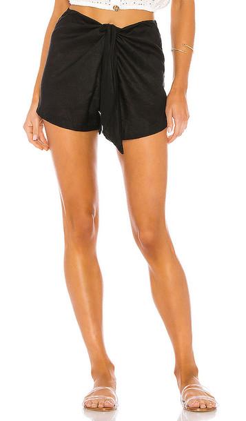 Acacia Swimwear James Short in Black