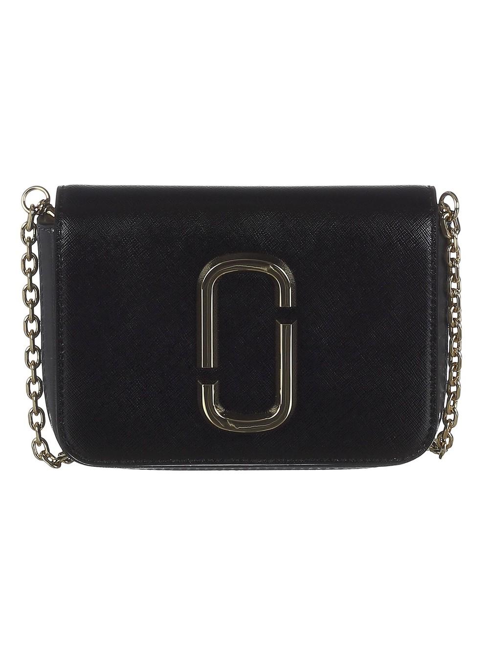 Marc Jacobs Double J Logo Belt Bag in black / multi