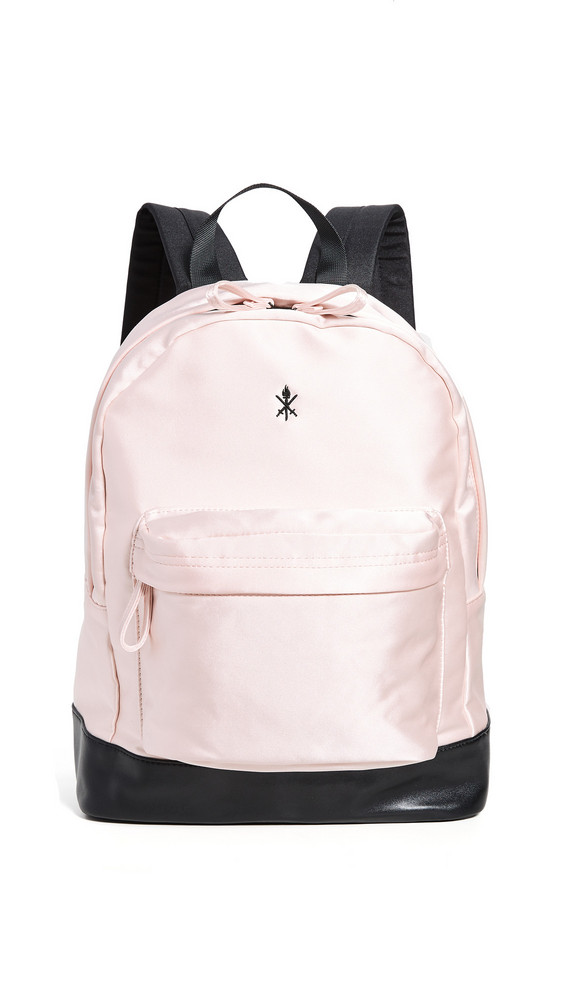 Opening Ceremony Satin Classic Backpack in pink