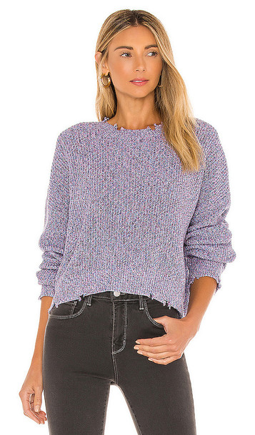 PISTOLA Eva Sweater in Purple