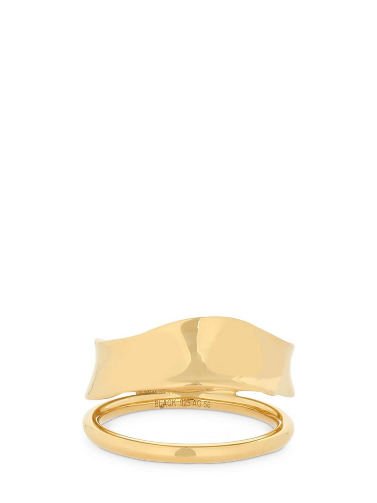 MARIA BLACK Midnight Ring in gold