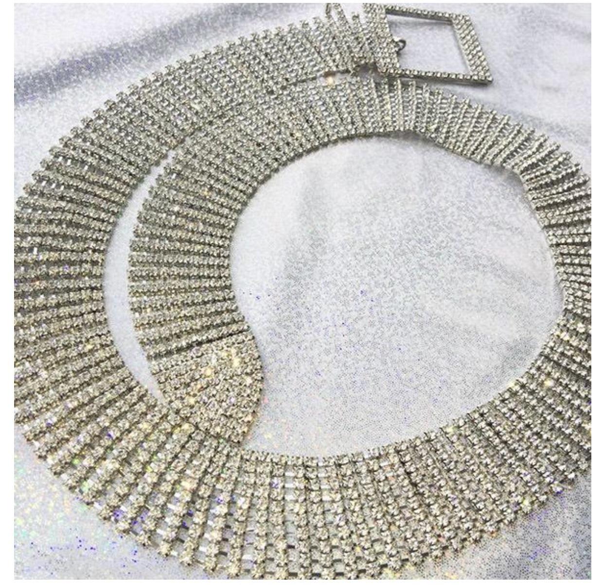 belt girly tumblr diamonds