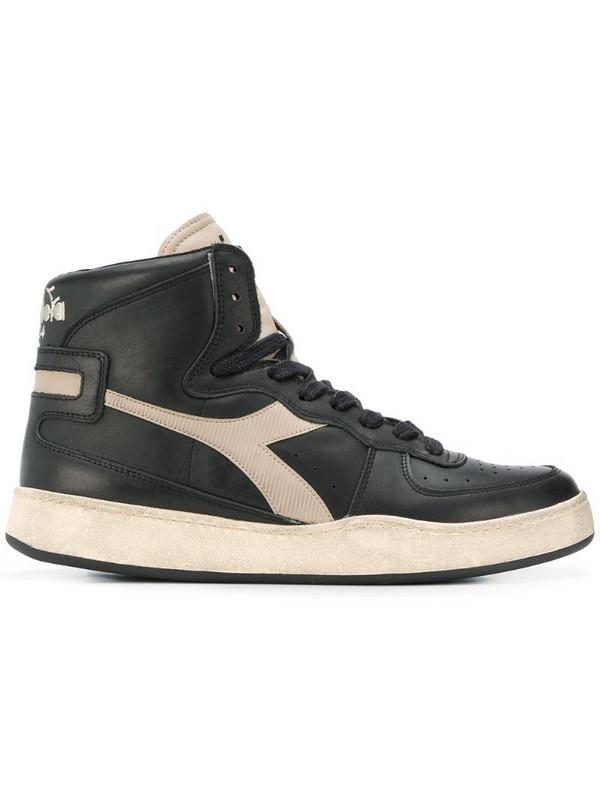 Diadora Mi Basket hi-top sneakers in black