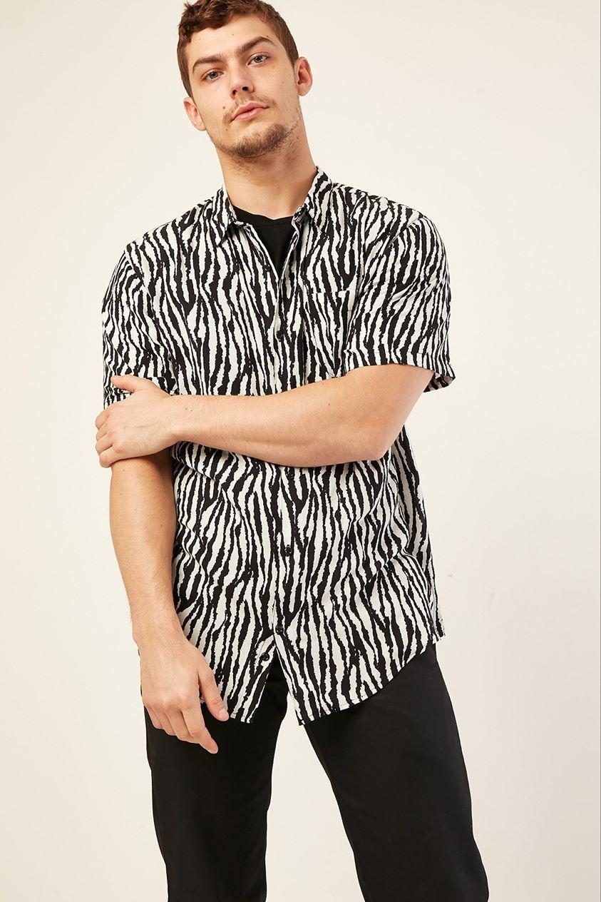 Common Need Zebra Party Animal Shirt Black/white
