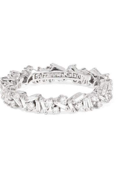 Suzanne Kalan - 18-karat White Gold Diamond Ring