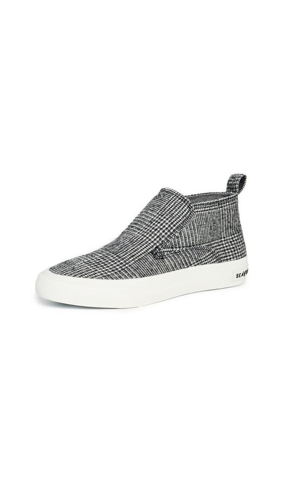 SeaVees Huntington Middie Highlands Sneakers in ecru