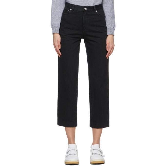 A.P.C. A.P.C. Black New Sailor Jeans