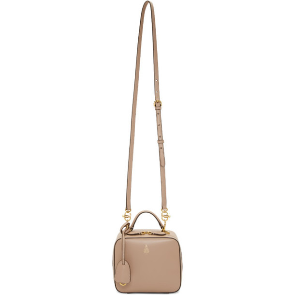 Mark Cross Beige Baby Smooth Laura Bag