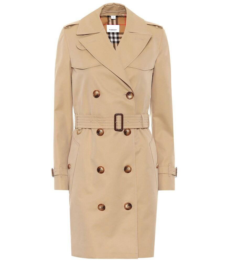 Burberry The Short Islington trench coat in beige