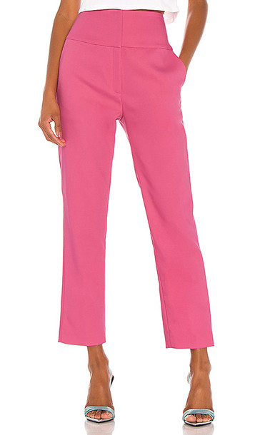 GRLFRND Cameron Trousers in Pink