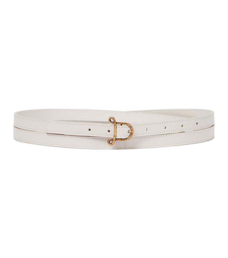 Altuzarra Leather belt in white