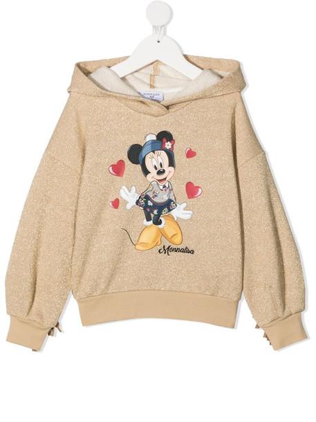 Monnalisa Minnie print hoodie