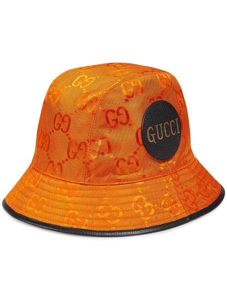Gucci Off The Grid bucket hat in orange