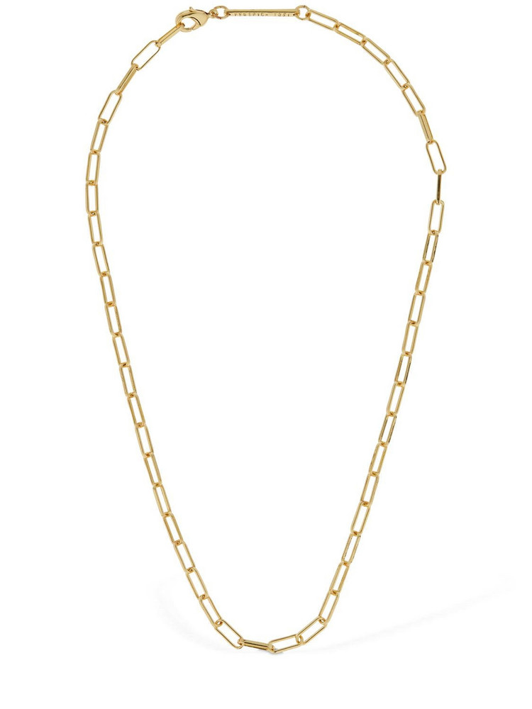FEDERICA TOSI Lace Karen Chain Necklace in gold