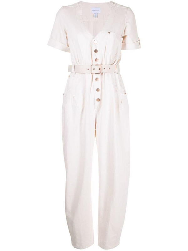 Alice McCall Bronte belted jumpsuit in neutrals