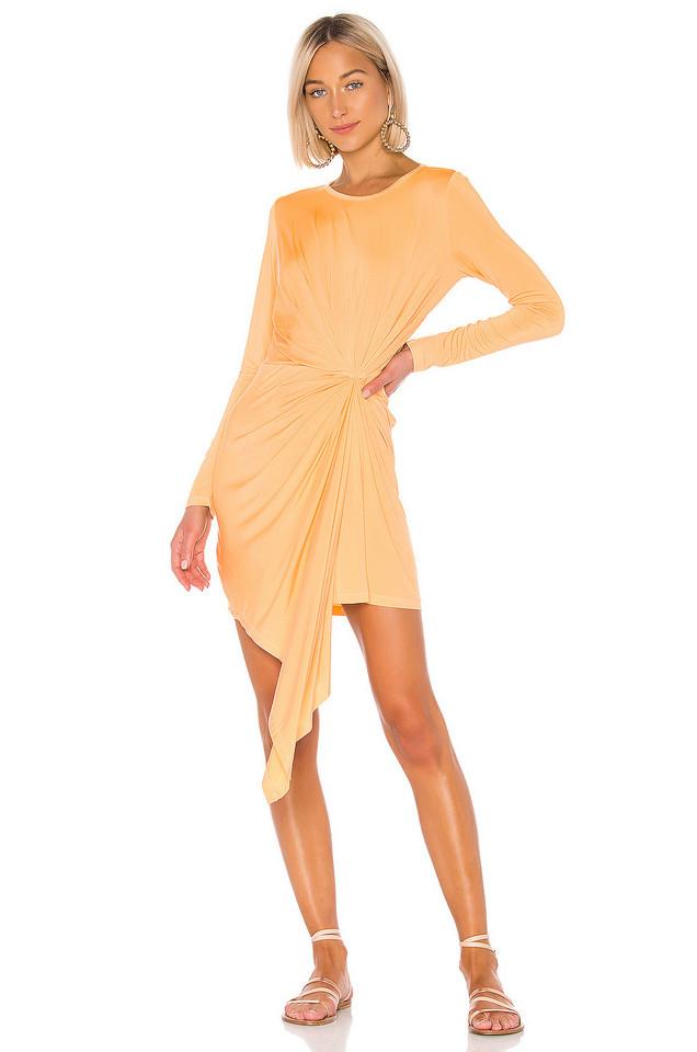 YFB CLOTHING Yumi Dress in yellow