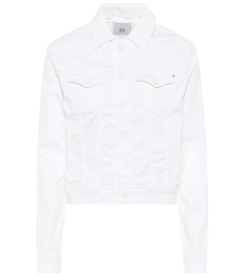 AG Jeans Robyn denim jacket in white