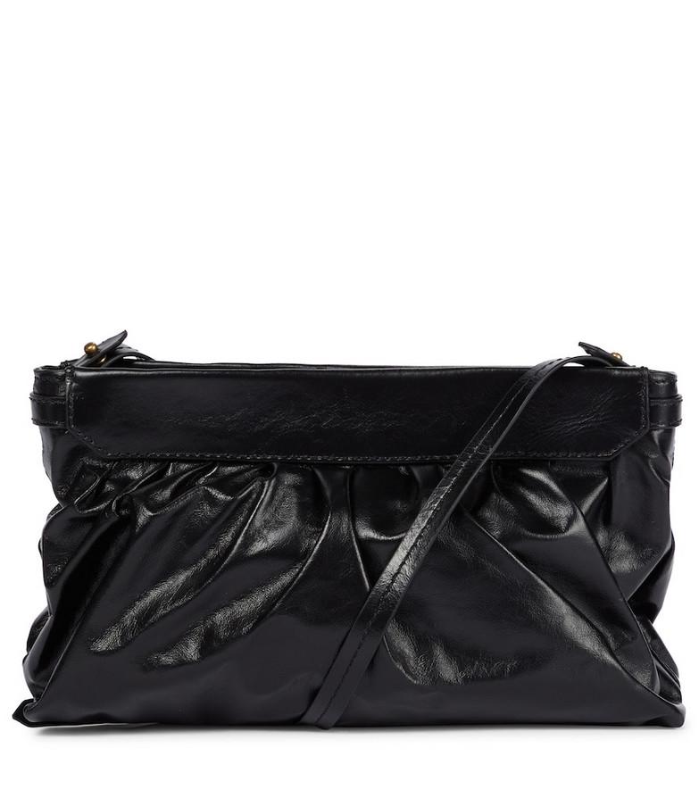 Isabel Marant Luzes leather shoulder bag in black
