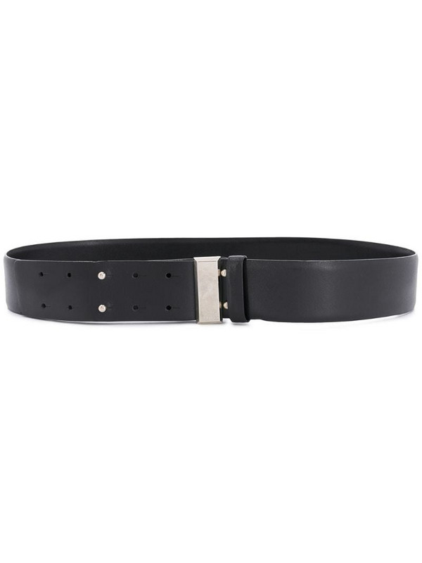 Gianfranco Ferré Pre-Owned 2000s double-tongue belt in black