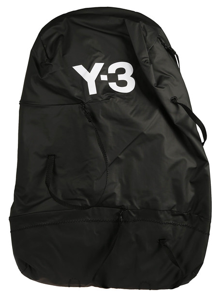 Y-3 Logo Backpack in black
