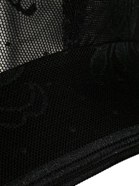 Wacoal Net Effects bralette in black