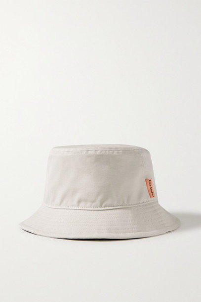 Acne Studios - Brun Cotton-canvas Bucket Hat - Beige