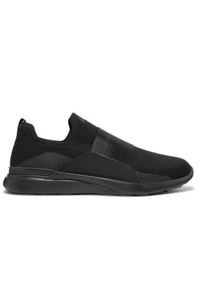 APL Athletic Propulsion Labs - Techloom Bliss Mesh And Neoprene Slip-on Sneakers - Black