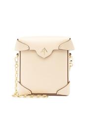 mini,bag,shoulder bag,leather,beige