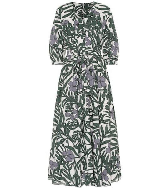 S Max Mara Edita floral cotton dress