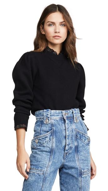 Isabel Marant Etoile Kelaya Pullover in black
