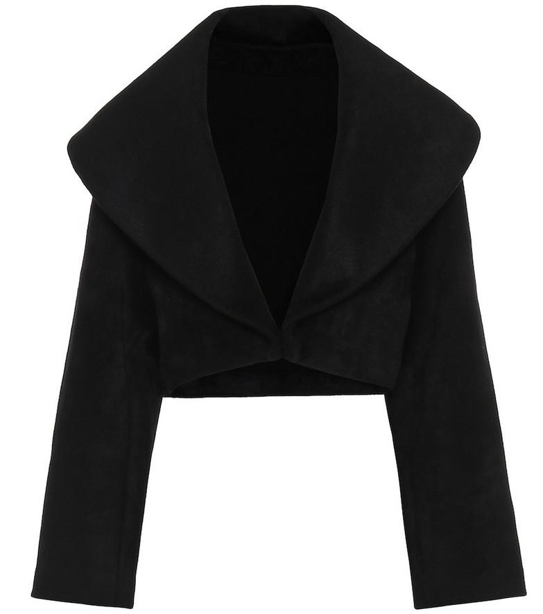 Alaïa Cropped jacket in black