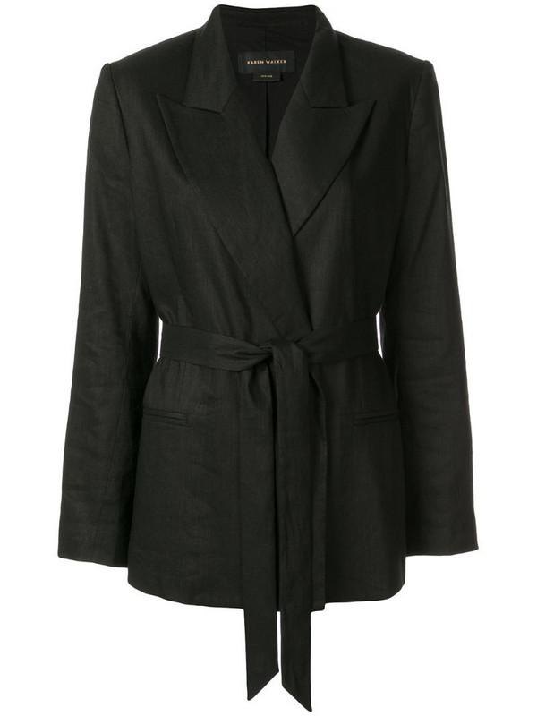 Karen Walker Metropolis jacket in black
