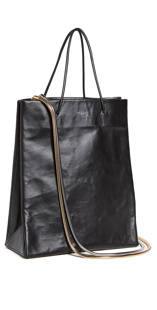Medea Busted Tall with Chain Medea Bag in black