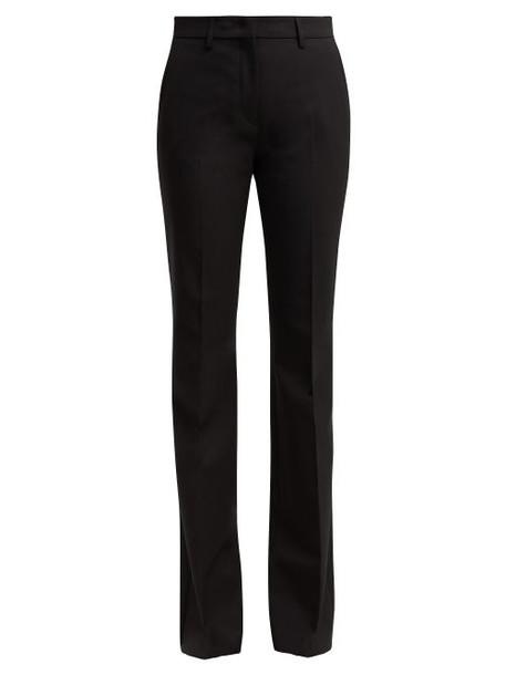 Etro - Ruby Stretch Twill Trousers - Womens - Black
