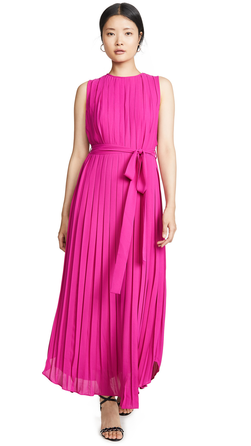 Fame and Partners The Lyra Dress in pink