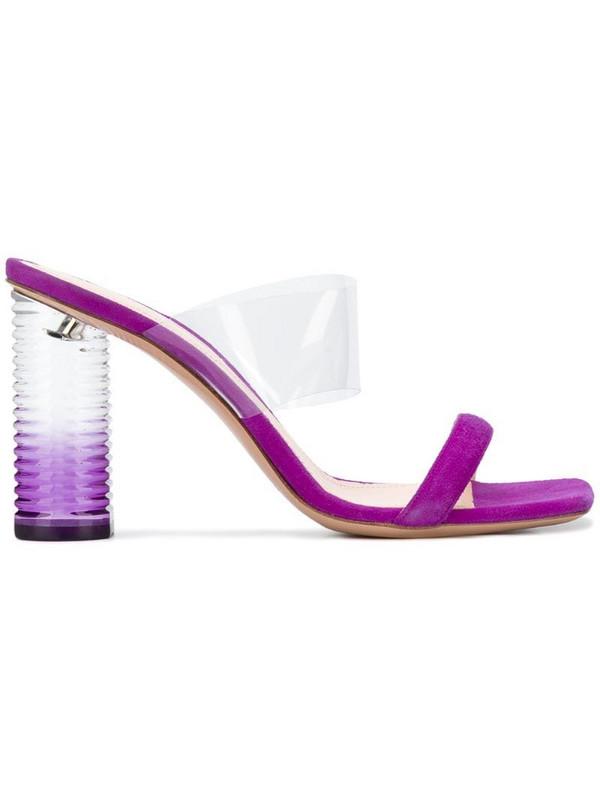 Nicholas Kirkwood Peggy sandals in pink